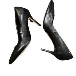 ALDO Black heel semi-pointy
